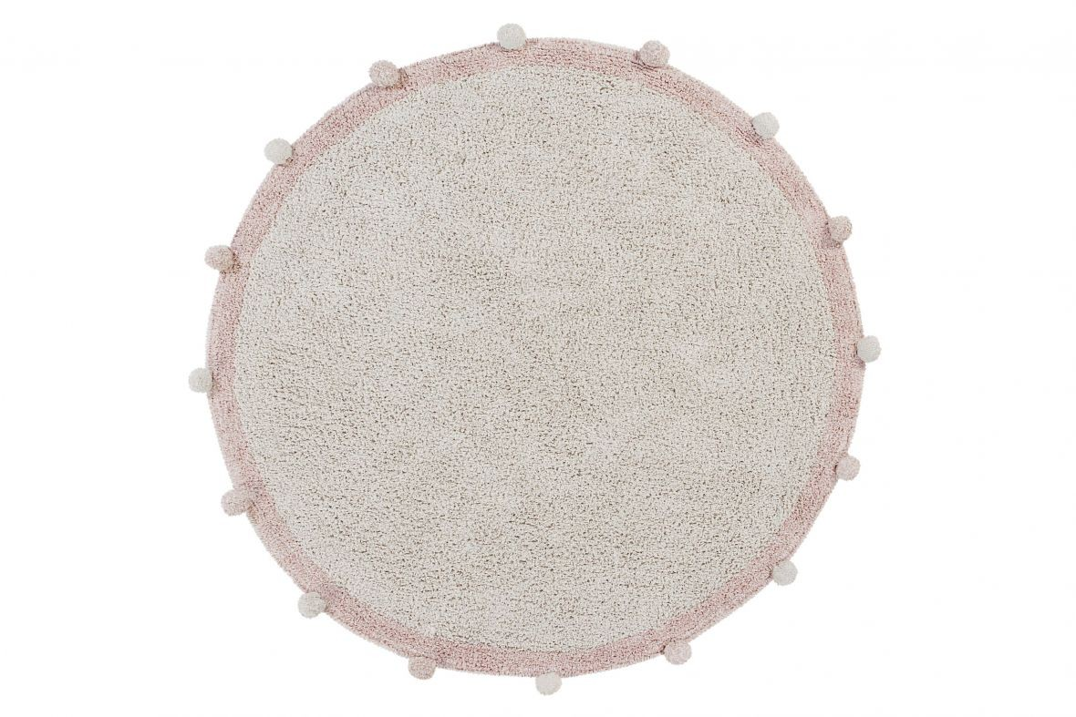 Alfombra Lavable Bubbly Natural - Vintage Nude - Foto 1/7