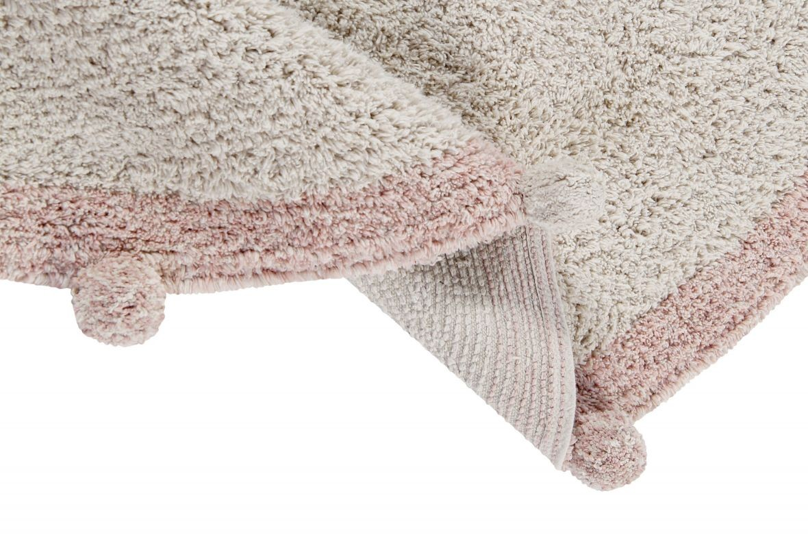 Alfombra Lavable Bubbly Natural - Vintage Nude - Foto 4/7