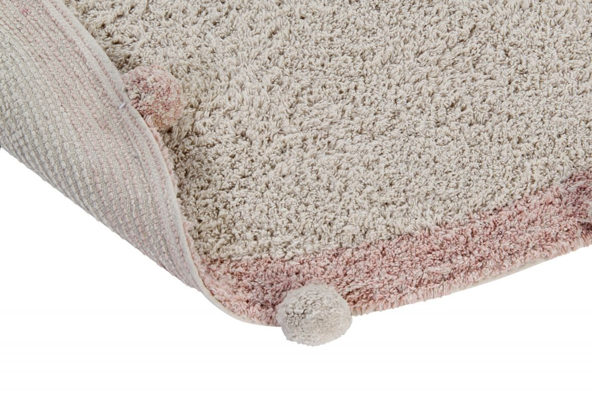Alfombra Lavable Bubbly Natural - Vintage Nude - Foto 5/7