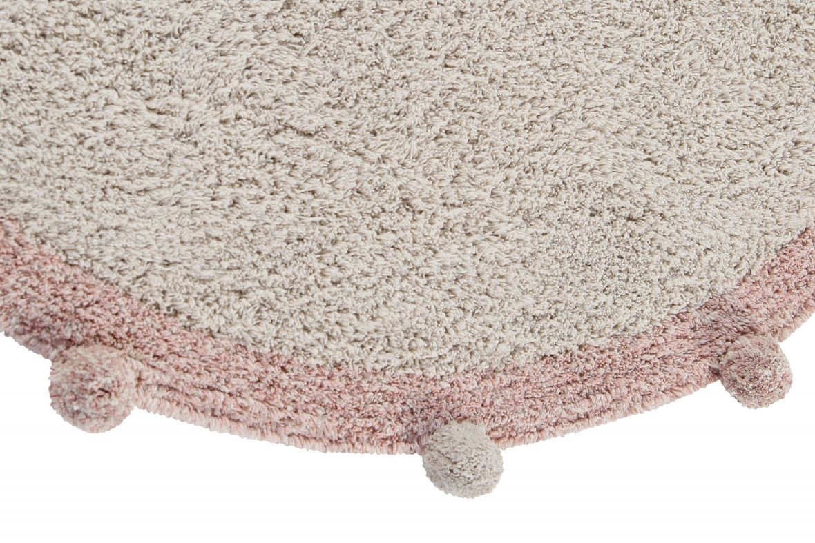 Alfombra Lavable Bubbly Natural - Vintage Nude - Foto 2/7